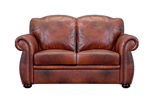 Arizona Italia Chesterfield Marco Loveseat w/Nailheads
