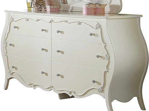 Edalene All White Dresser