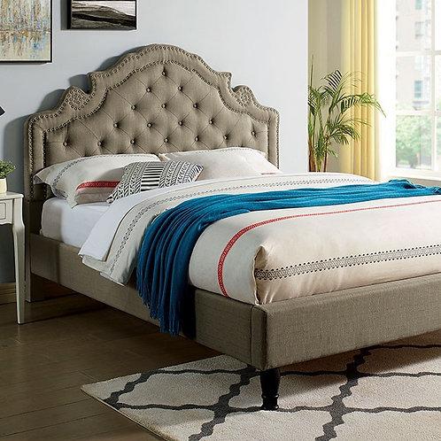 AUBREE Imprad Gray Bed