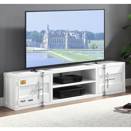All Cargo TV Stand - 91880 - White