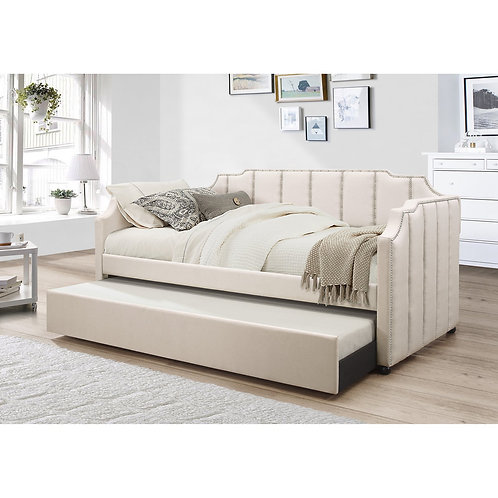Best K42 Twin Beige DayBed w/Trundle