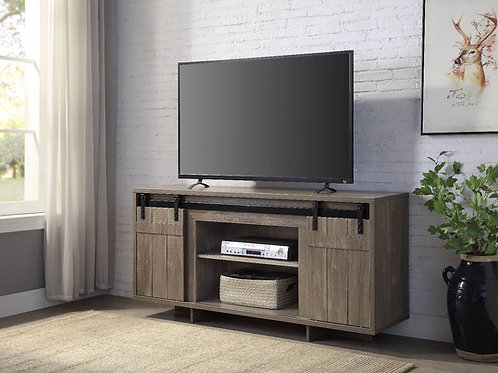 All - 91608 Gray Washed TV Stand