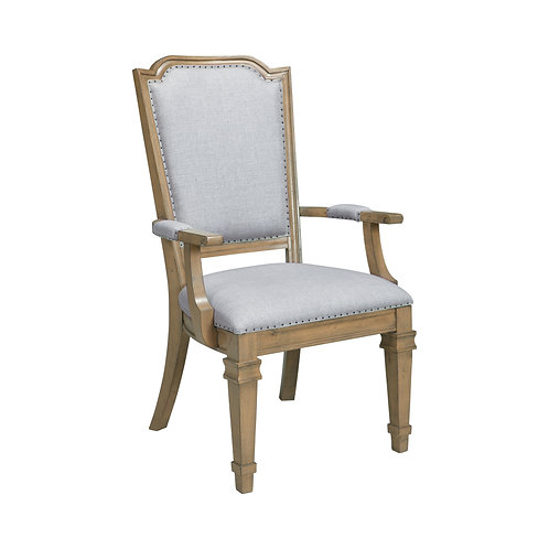 Florence Cali Arm Chairs Grey And Rustic Smoke