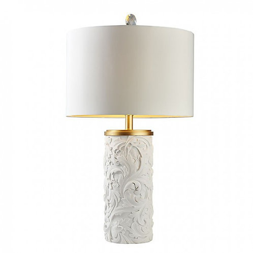 Beryl Imprad Table White & Gold  Lamp