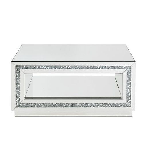 All Mirrored Glam Square Coffee Table - 84735