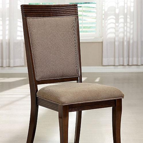 WOODMONT Imprad Walnut Dining Side Chair