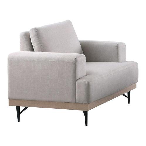 Kester Cali Beige Linen Chair