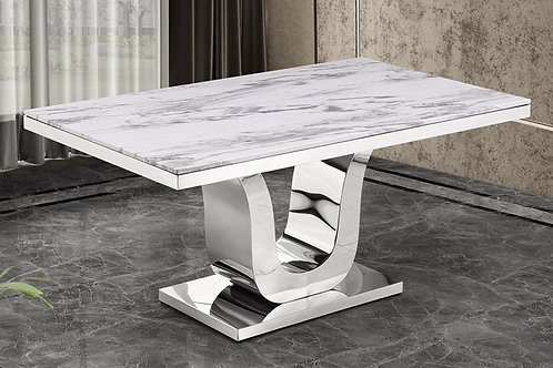 Elsye Best D14 Marble Top Dining Table
