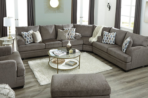 Dorsten Angel Slate Contemporary 3pc Sectional