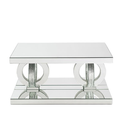 All 84740 Mirrored Glam Coffee Table