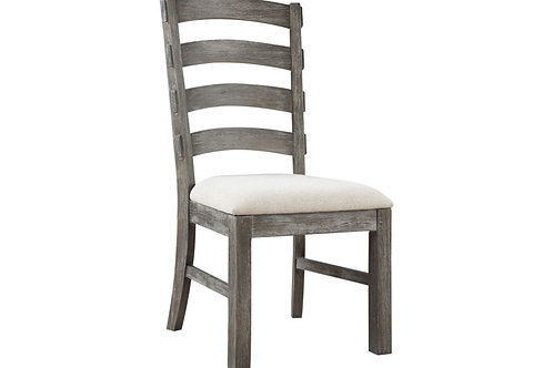 Emeral Paladin Rustic Charcoal Side Chair