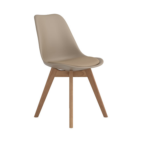 Breckenridge Cali Upholstered Side Chair Tan