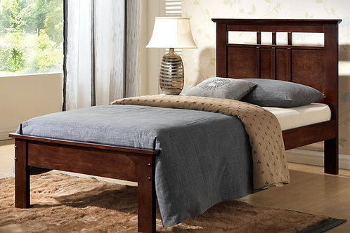 Donato All Twin Cappuccino Bed