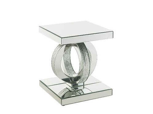 All Glam Mirrored End Table - 84742