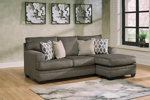 Dorsten Angel Slate Contemporary Sofa Chaise