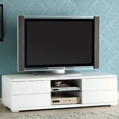 CERRO Imprad White TV Stand