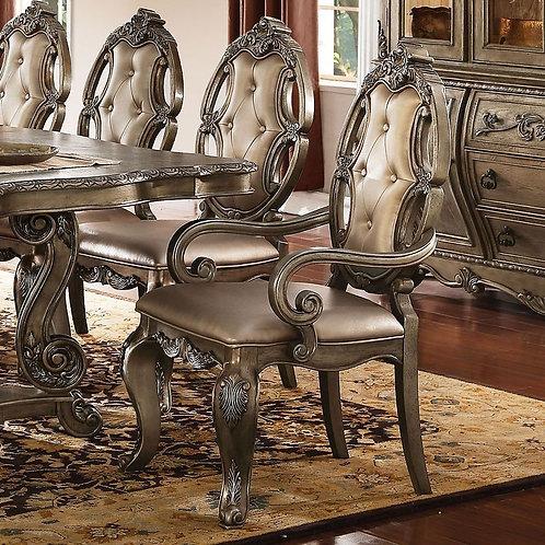 Ragenardus All Arm Chair PU & Vintage Oak