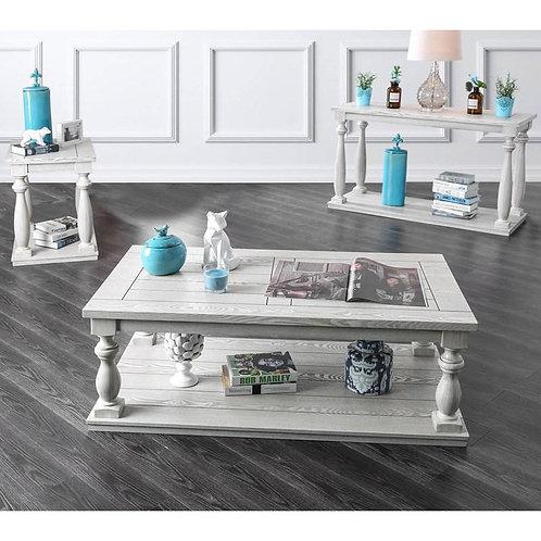 ARLINGTON Imprad Rustic Antique White Coffee Table