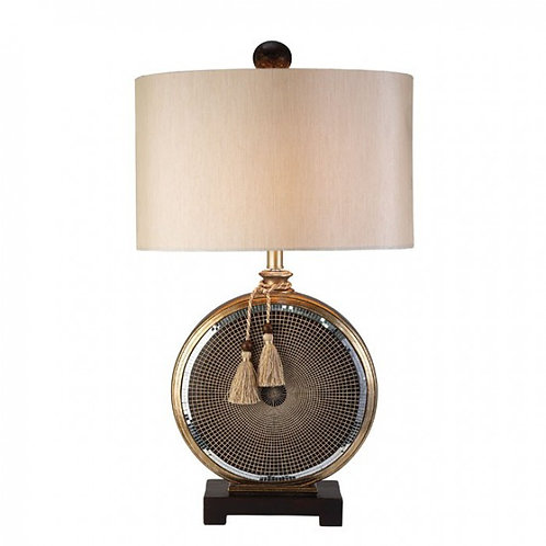 Darcey Imprad Gold Table Lamp