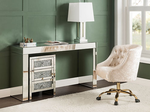 All Noralie 90674 Mirrored Writing Desk