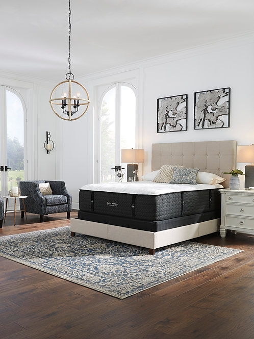 Ange Loft and Madison White Firm Mattress
