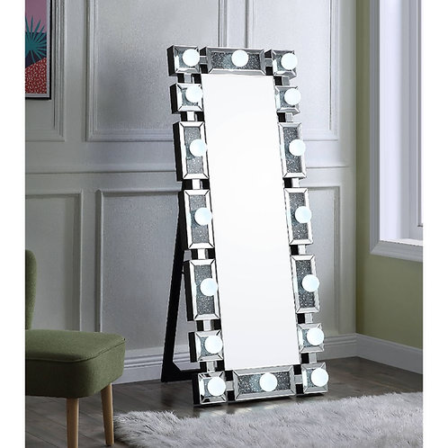 All Noralie Wall Decor - 97756 - Glam - LED Light, Glass Mirror