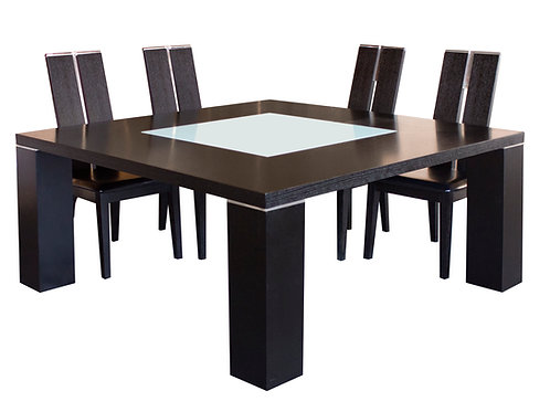 Elite Shar Wenge Square Dining Table