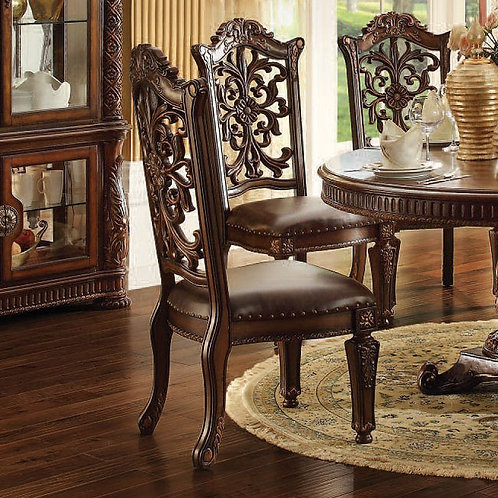 Vendome All Side Chair Cherry Finish