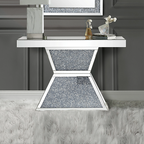 Glam All 90497 Mirrored Console Table