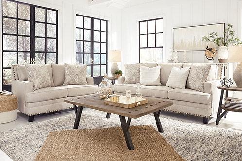 Claredon Angel Biege Linen Sofa