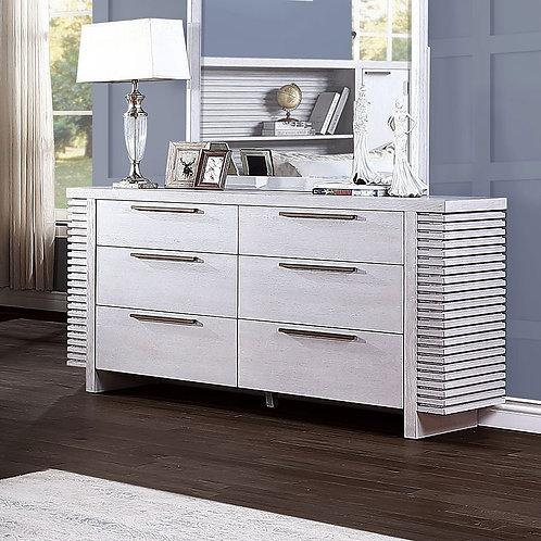 Aromas All White Oak Dresser