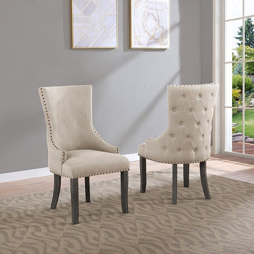 Best Q SC26 Beige Linen Chair