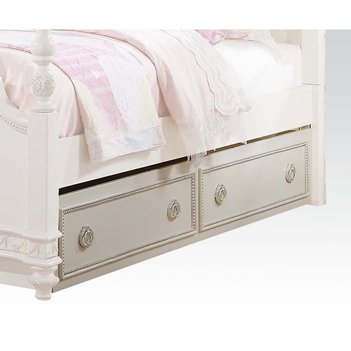 Dorothy All Trundle (Twin) Ivory