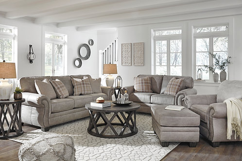 Redlands Angel Steel Traditional Sofa