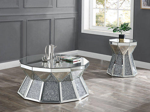 All Noralie Coffee Table - 88060 - Glam Mirrored