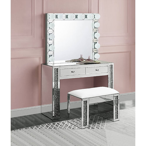 All Noralie Wall Decor - 97746 - Glam - LED Light, Glass Mirror