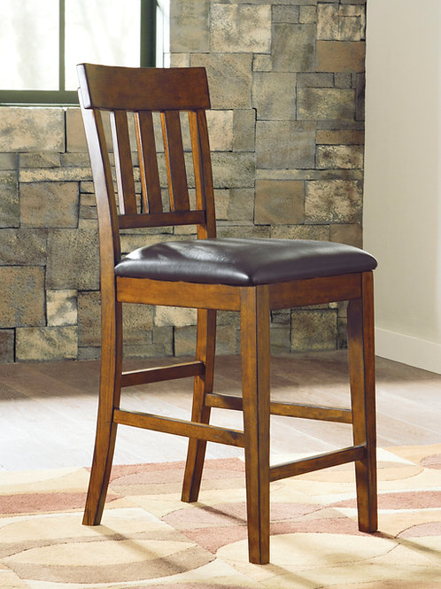 Angel Ralene Medium Brown Counter Height Chair