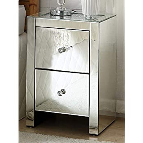 Glam All 97652 Mirrored Stand