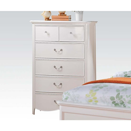 Cecilie All Chest White