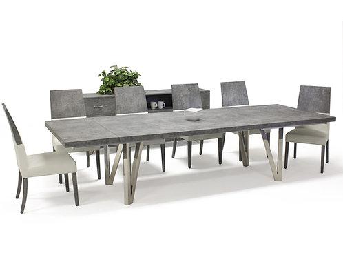 Prato Shar Matte Concrete Dining Table