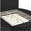 Thumbnail: DELILAH Imprad Glam Black Velvet Tufted Bed
