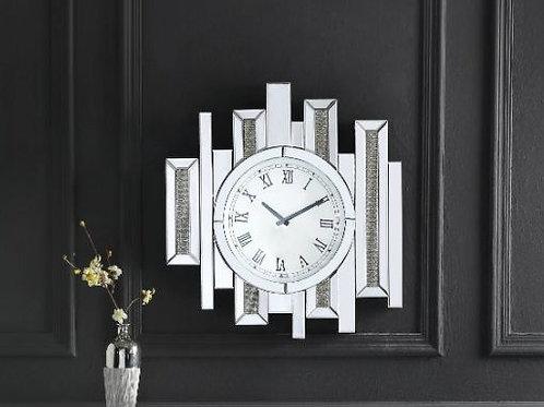 All 97728 Glam Mirrored Lavina Wall Clock