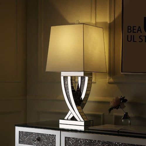 All 40241-Glam Mirrored Table Lamp