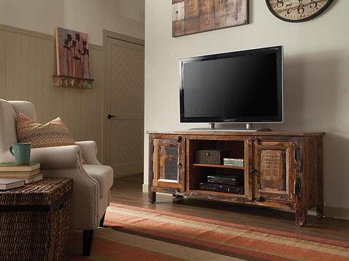 700303 Cali TV Console Reclaimed Wood