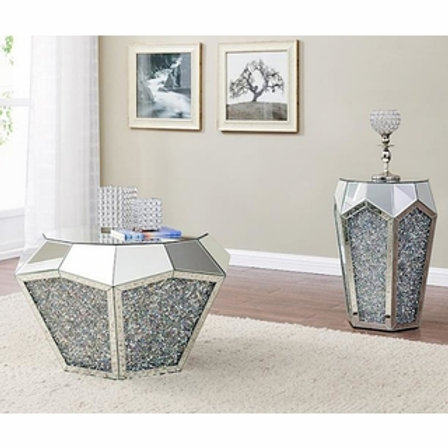 Noralie All 88005 Mirrored Coffee Table