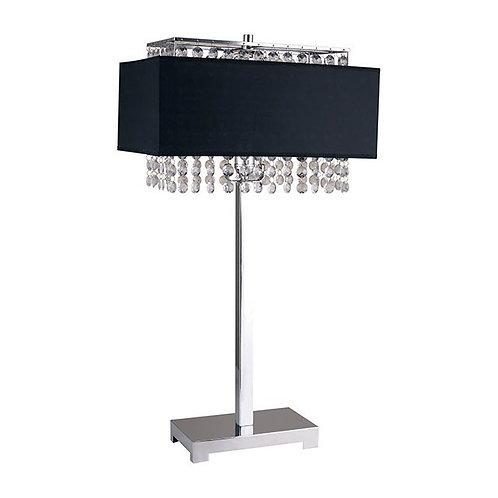 Naya Imprad Silver / Black Metal Table Lamp