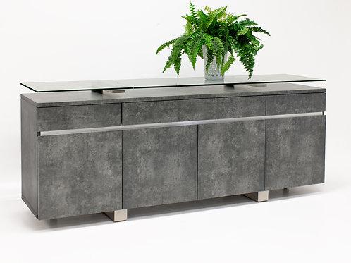 Novo Shar Matte Concrete Finish Buffet