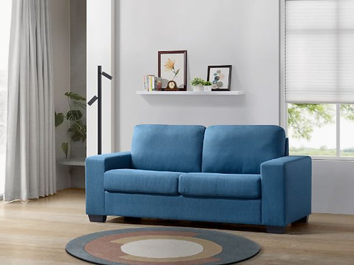 All ZOILOS 57215 Blue Fabric Sleeper Sofa