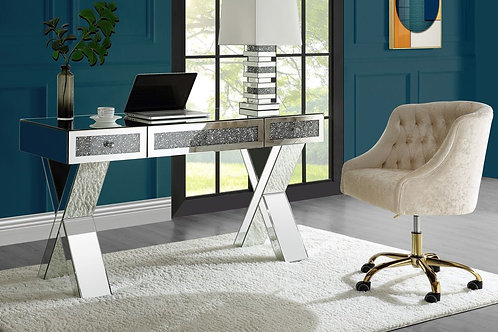 ALL Glam Mirrored Noralie 93116 Writing Desk