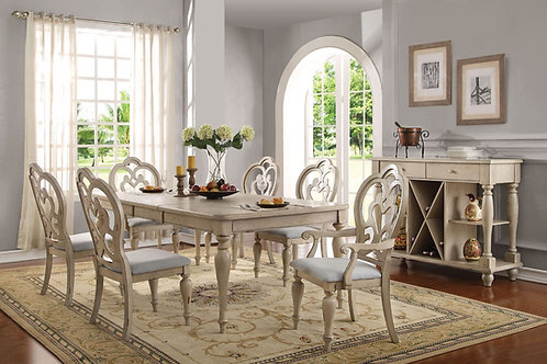Abelin All Dining Table Antique White
